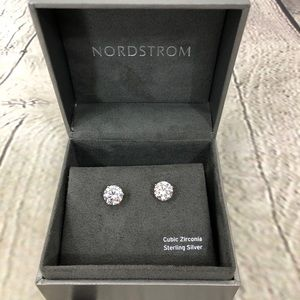 Nordstrom's 4ct Cubic Zirconia Earrings Rose Gold
